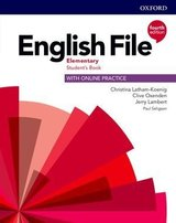 English File (4th Edition) Elementary Student's Book with Student's Resource Centre ISBN: 9780194031592