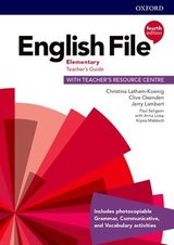 English File (4th Edition) Elementary Teacher's Book with Teacher's Resource Centre ISBN: 9780194032766