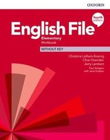 English File (4th Edition) Elementary Workbook without Key ISBN: 9780194032919