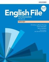 English File (4th Edition) Pre-intermediate Workbook with Key ISBN: 9780194037686