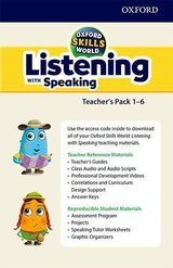 Oxford Skills World 1 - 6 (All Levels) Listening with Speaking Teacher's Pack ISBN: 9780194113236