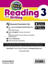 Oxford Skills World 3 Reading with Writing Classroom Presentation Tool ISBN: 9780194115483
