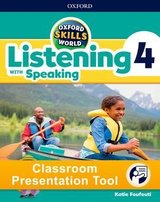 Oxford Skills World 4 Listening with Speaking Classroom Presentation Tool ISBN: 9780194115704