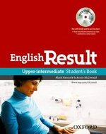 English Result Upper Intermediate Student's Book with DVD ISBN: 9780194129572