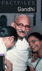 OBL Factfiles 4 Gandhi with MP3 Audio Download ISBN: 9780194637985