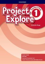 Project Explore 1 Teacher's Pack ISBN: 9780194256056