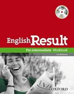 English Result Pre-Intermediate Workbook without Answer Key with MultiROM ISBN: 9780194304955