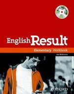 English Result Elementary Workbook with Answer Key & MultiROM ISBN: 9780194304986