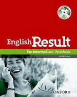 English Result Pre-Intermediate Workbook with Answer Booklet and MultiROM ISBN: 9780194304993