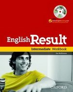 English Result Intermediate Workbook with Answer Booklet and MultiROM ISBN: 9780194305006