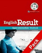 English Result Upper Intermediate Workbook with Answer Booklet & MultiROM ISBN: 9780194305013