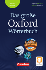 Das Grosse Oxford Woerterbuch (3rd Edition) with Exam Trainer & App ISBN: 9780194406024