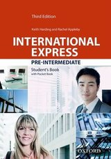 International Express (3rd Edition) Pre-Intermediate Student Book with Pocket Book (without DVD-ROM) ISBN: 9780194418263
