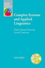 Complex Systems and Applied Linguistics an Introduction ISBN: 9780194422444