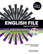 English File (3rd Edition) Beginner MultiPACK B with Online Skills ISBN: 9780194501873