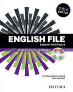 English File (3rd Edition) Beginner MultiPACK B (without CD-ROM) ISBN: 9780194501927