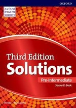 Solutions (3rd Edition) Pre-Intermediate Student's Book ISBN: 9780194510561