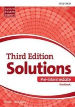 Solutions (3rd Edition) Pre-Intermediate Workbook ISBN: 9780194510592