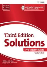 Solutions (3rd Edition) Pre-Intermediate Teacher's Pack ISBN: 9780194510745