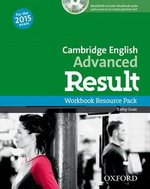 Cambridge English: Advanced (CAE) Result Workbook without Key with Audio CD ISBN: 9780194512350
