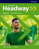 Headway (5th Edition) Beginner Workbook with Key ISBN: 9780194524223