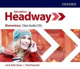 Headway (5th Edition) Elementary Class Audio CDs (3) ISBN: 9780194527552