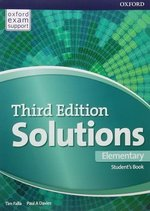 Solutions (3rd Edition) Elementary Student's Book ISBN: 9780194561839