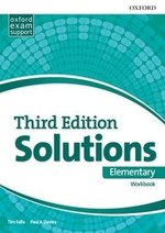 Solutions (3rd Edition) Elementary Workbook ISBN: 9780194561860