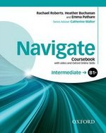 Navigate Intermediate B1+ Student's Book with DVD-ROM & Online Skills ISBN: 9780194566629