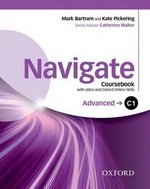 Navigate Advanced C1 Coursebook with DVD-ROM & Oxford Online Skills Program ISBN: 9780194566889