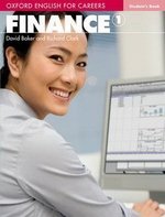 Oxford English for Careers: Finance 1 Student's Book ISBN: 9780194569934