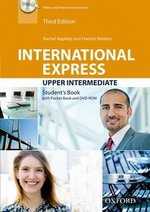 International Express (3rd Edition) Upper Intermediate Student Book with Pocket Book & DVD-ROM ISBN: 9780194597876