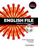 English File (3rd Edition) Elementary Student's Book (without iTutor CD-ROM) ISBN: 9780194598569