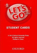 Let's Go (4th Edition) 1 Student Cards ISBN: 9780194641029