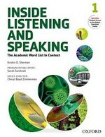 Inside Listening and Speaking 1 Student's Book with Audio CD ISBN: 9780194719131