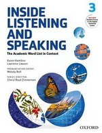 Inside Listening and Speaking 3 Student's Book with Audio CD ISBN: 9780194719339