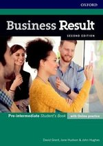 Business Result (2nd Edition) Pre-Intermediate Student's Book with Online Practice ISBN: 9780194738767