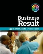 Business Result Upper Intermediate Student's Book with DVD-ROM & Online Workbook ISBN: 9780194739405