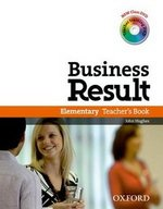 Business Result Elementary Teacher's Book with DVD-Video ISBN: 9780194739429