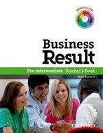 Business Result Pre-Intermediate Teacher's Book with DVD-Video ISBN: 9780194739436