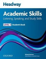 Headway Academic Skills 3 Listening and Speaking Student's Book ISBN: 9780194741583