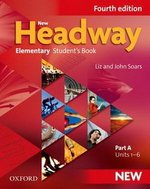New Headway (4th Edition) Elementary (Split Edition) Student's Book A ISBN: 9780194768993