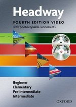 New Headway (4th Edition) Video and Worksheets Pack (Beginner, Elementary, Pre-Intermediate & Intermediate) Book & DVDs (2) ISBN: 9780194770767