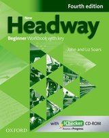 New Headway (4th Edition) Beginner Workbook with Key (without iChecker CD-ROM) ISBN: 9780194771177