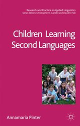 Children Learning Second Languages ISBN: 9780230203426