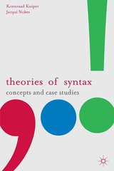 Theories of Syntax ISBN: 9780230216938