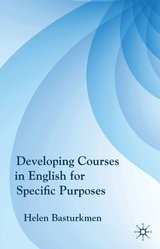 Developing Courses in English for Specific Purposes ISBN: 9780230227989