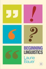 Beginning Linguistics ISBN: 9780230231702