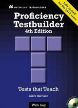 Proficiency (CPE) Testbuilder (4th Edition) Student's Book with Key & Audio CD ISBN: 9780230436923