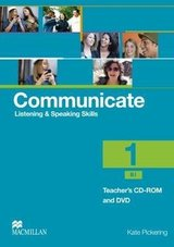 Communicate Listening & Speaking Skills 1 (B1) Teacher's CD-ROM and DVD Pack ISBN: 9780230440319
